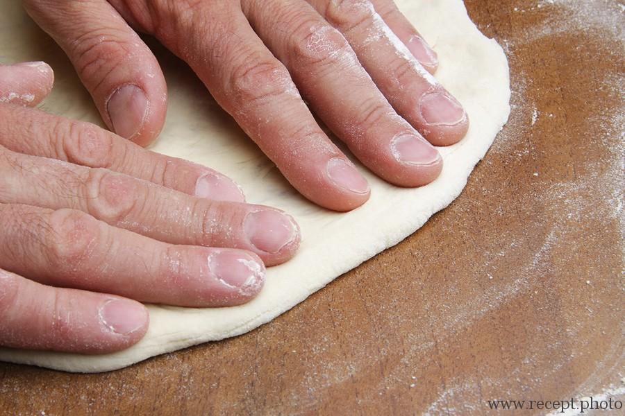 Тесто для настоящей пиццы