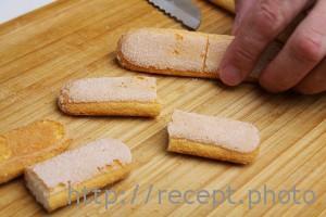 Бисквитное печенье для тирамису