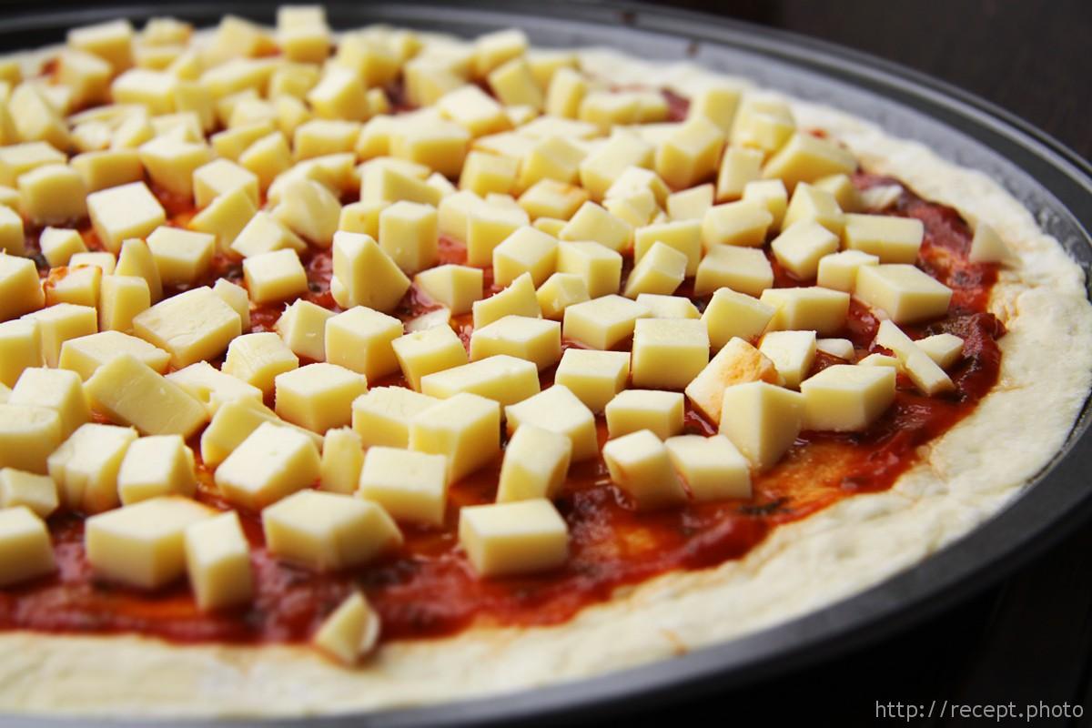 Рецепт пицца маргарита