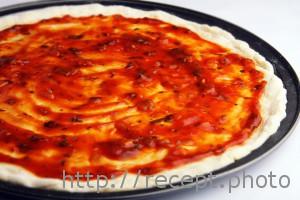 Корж для пиццы