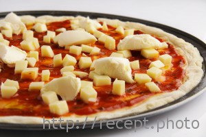 Корж для пиццы с маскарпоне