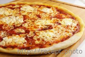 Запеченый корж для пиццы
