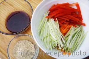 Салат по-корейски ингредиенты