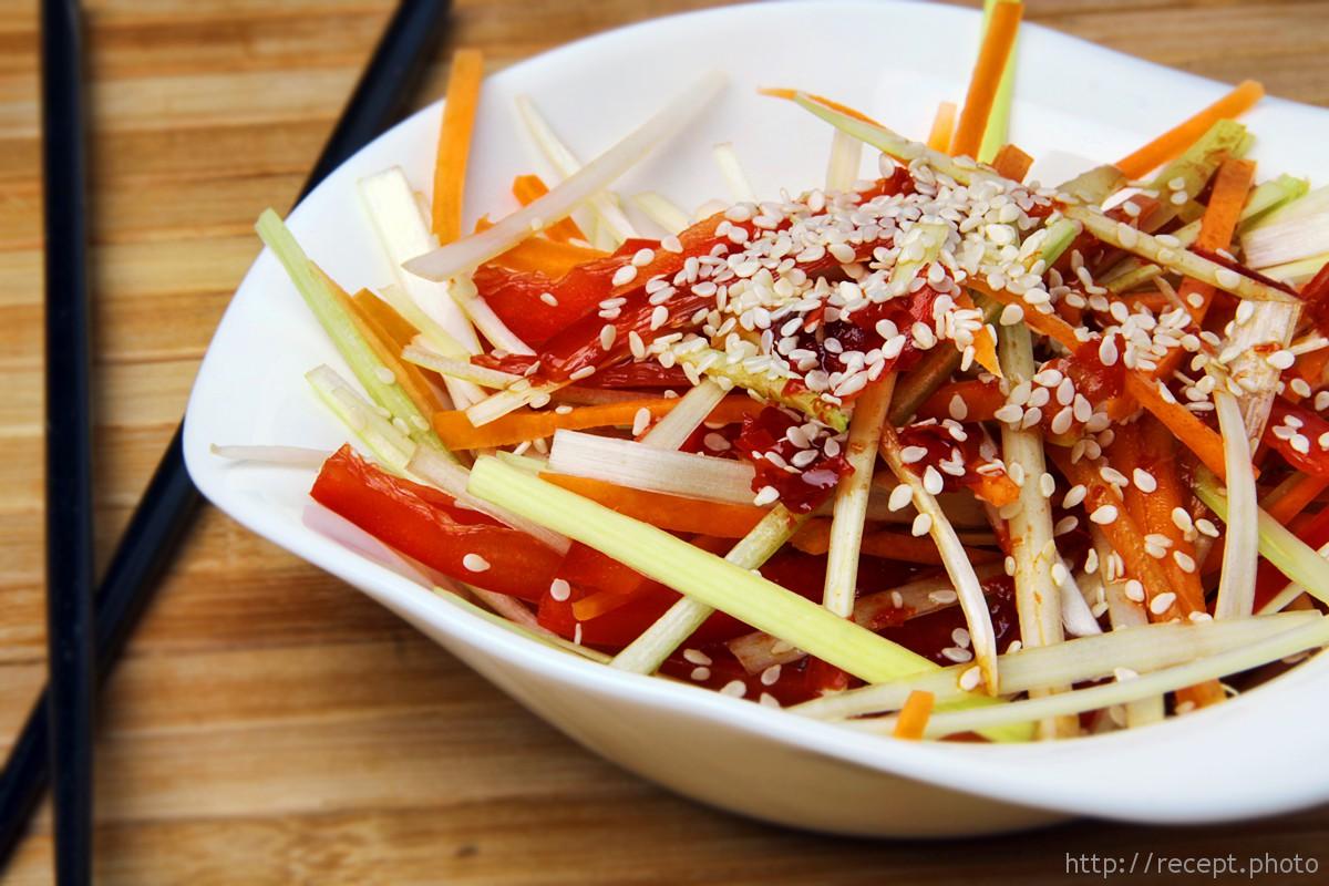 Салат по-корейски