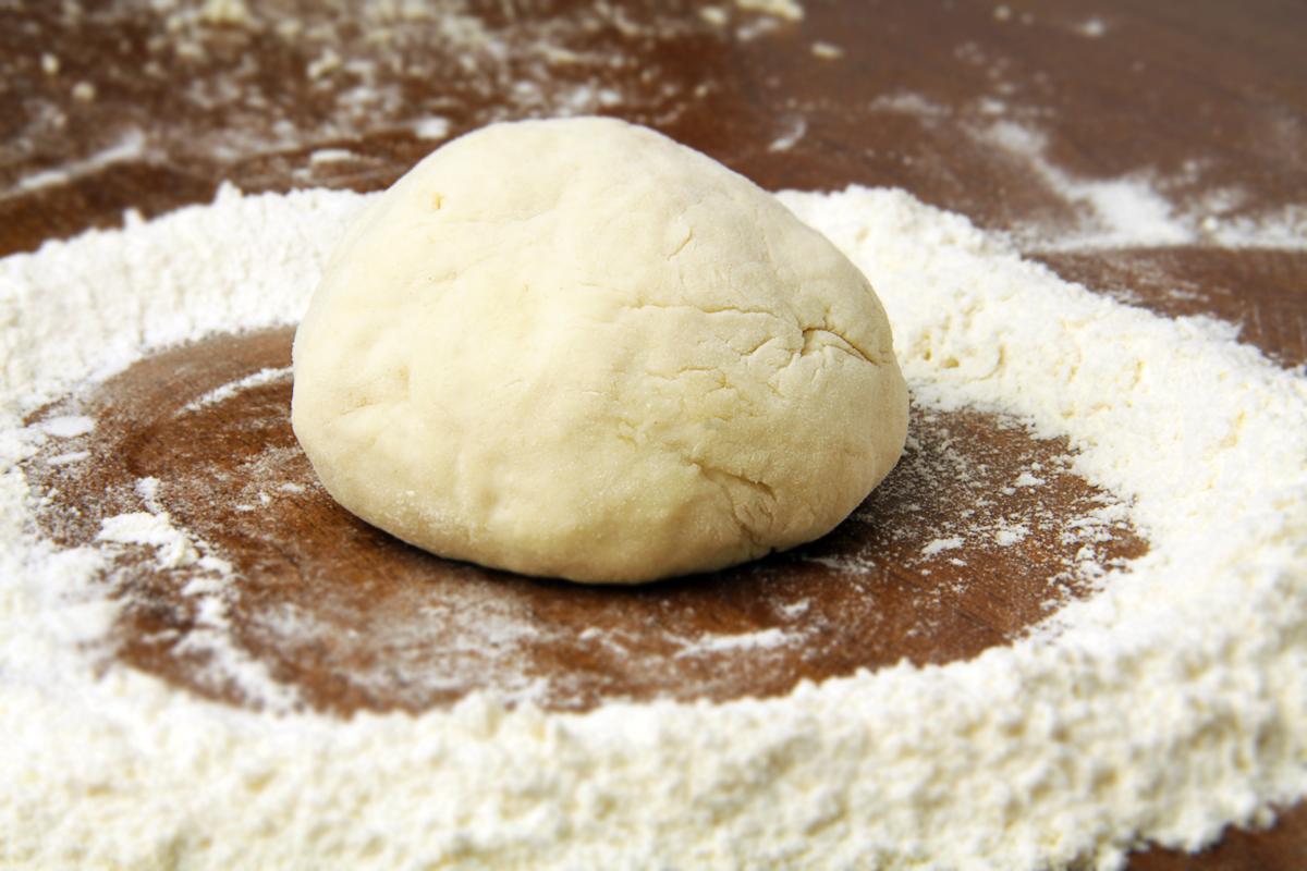 Тесто для хлебной лепешки