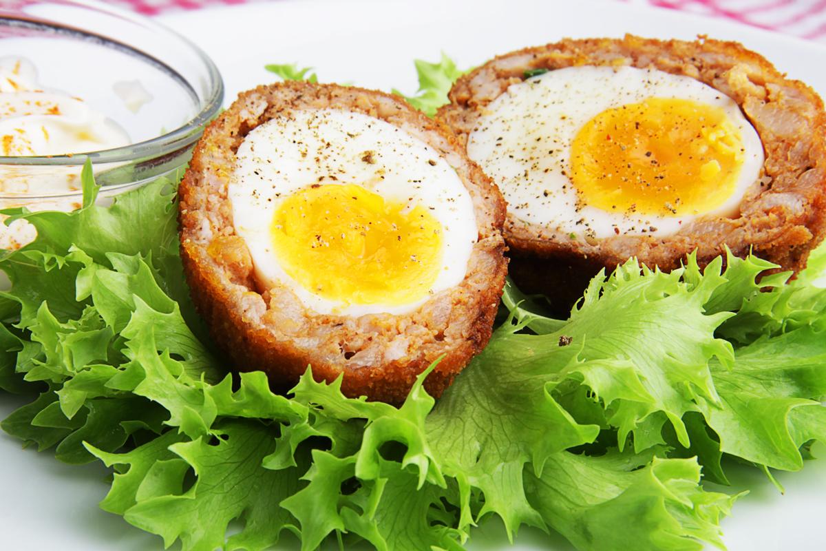 Рецепт с фото яйцо по-шотландски