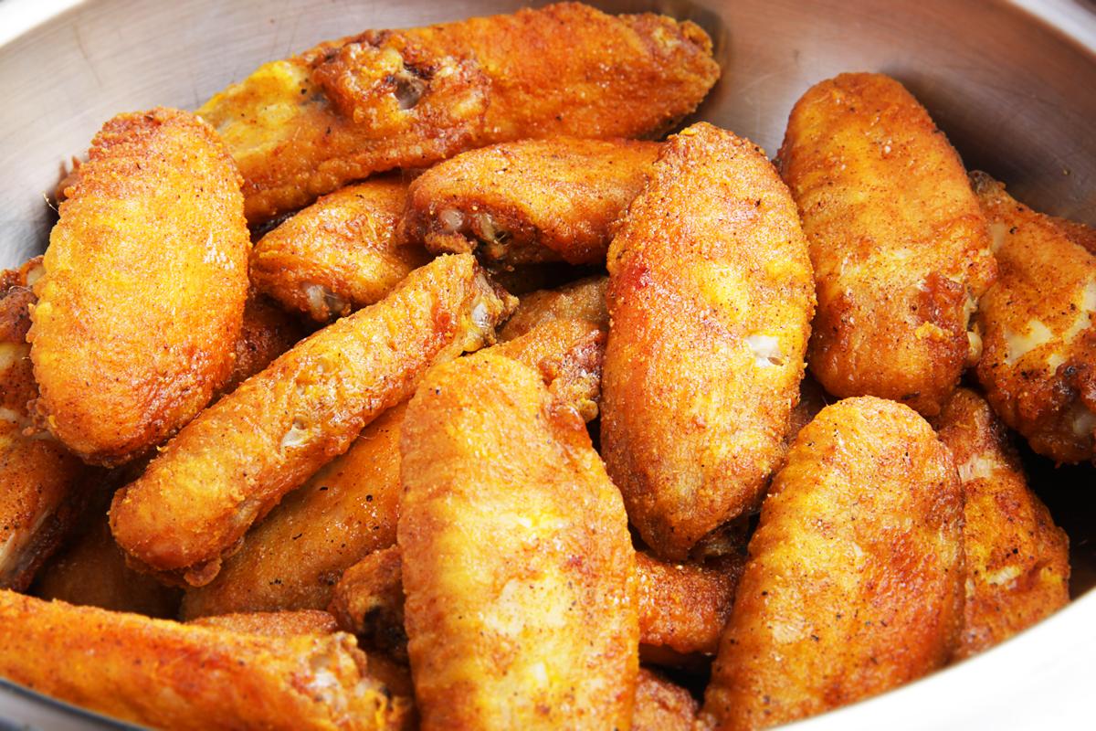 Куриные крылышки в медово-соевом соусе
