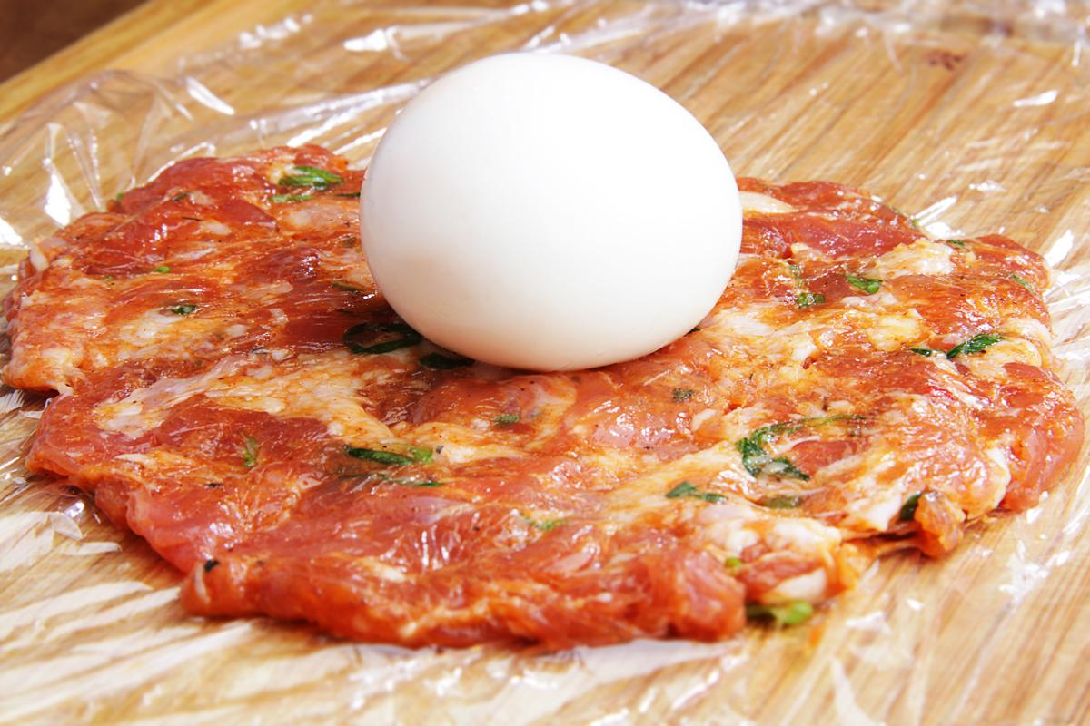 Фарш для яиц по-шотландски