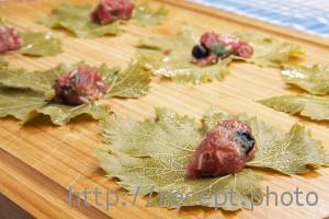 Долма в виноградных листьях рецепт